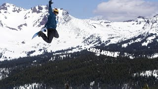 How to do a Suitcase Grab with Chris Luzier   TransWorld SNOWboarding Grab Directory