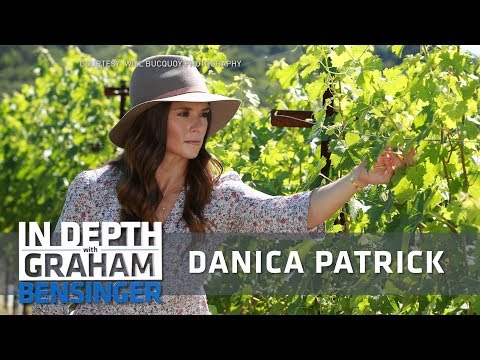 Danica Patrick on her Napa vineyard