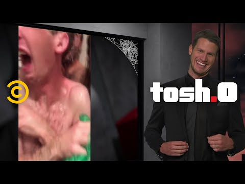 Scaring Kids For Halloween - Tosh.0