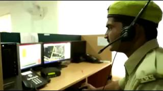 High tech Control Room Kanpur Police