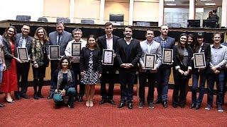 Assembleia presta homenagem para prefeituras participantes do programa Qualifica