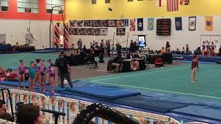 Bella Lim USAG Level 5 Vault | 2018 Hill's Maryland Classic