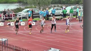 Pikajuoksukarnevaalit 2013 P14 100m finaali