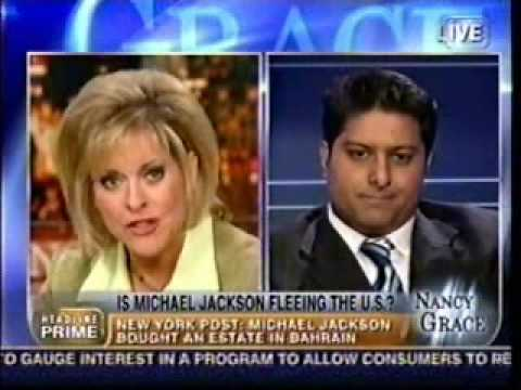 Rahul Manchanda on the Nancy Grace Show (Michael Jackson and ...