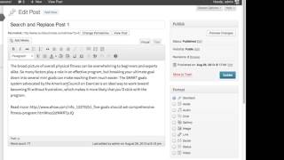 How to Mass Delete Content From Posts in WordPress : WordPress Lessons