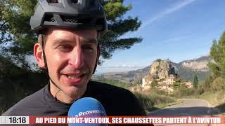 Vaucluse : des chaussettes révolutionnaires pour les cyclistes