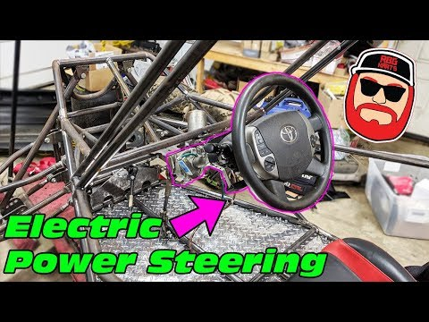 IRS Buggy Electric Power Steering Rack