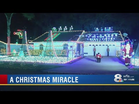 A.J. - A Christmas Miracle Happens In Mulberry, Florida!