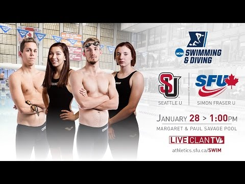 SFU Clan Swimming & Diving: Seattle University Dual Meet