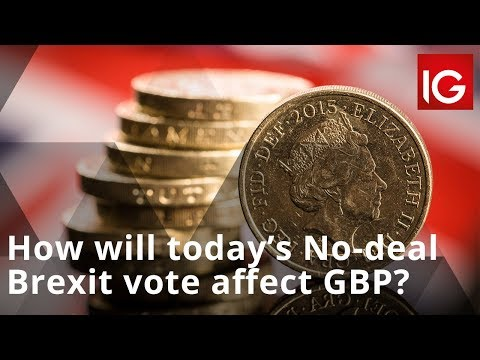 How will today's No-deal Brexit vote affect GBP?