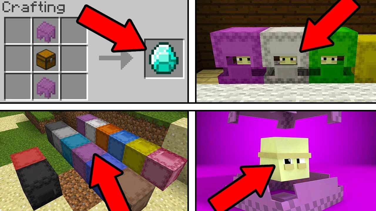 minecraft how to make a shulker box