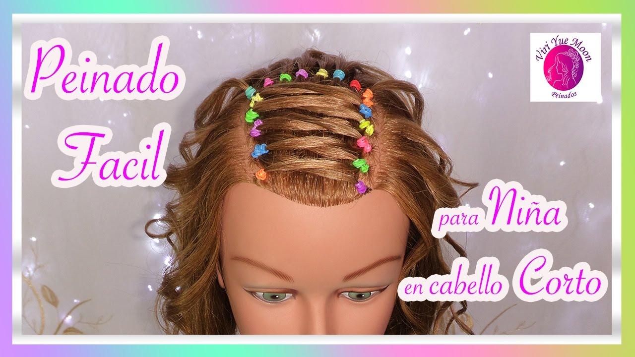 Peinados Faciles Para Ninas Con Cabello Corto Peinados Para La