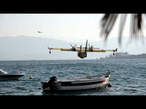 GREECE: Firefighting Aircraft Sikorsky Bombardier