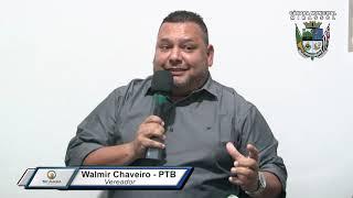 2ª Sessão Ordinária - Walmir Chaveiro