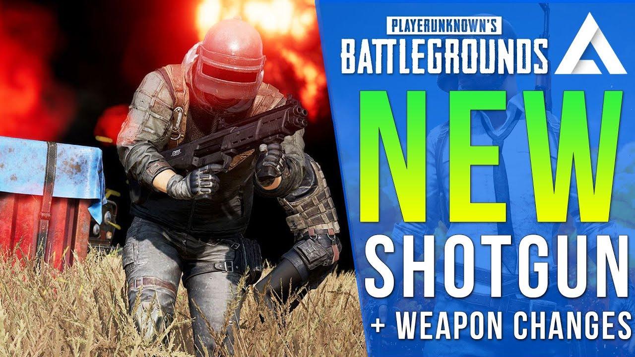 PUBG Xbox/PS4 Update Info: New Shotgun DBS + New Shotgun Weapon Improvements
