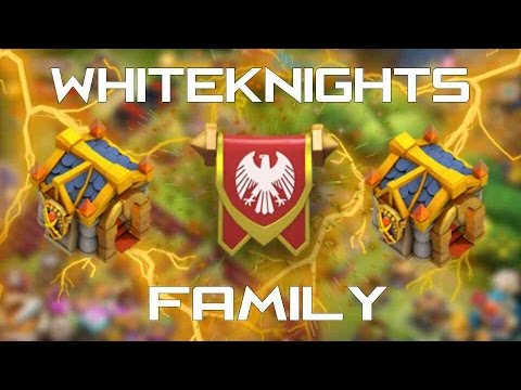 CastleClash: Guild WhiteKnights! Top 10 Donations, And Might!!!