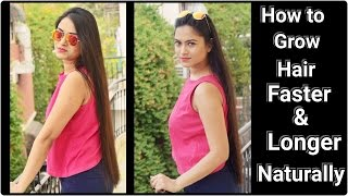 HOW TO GROW HAIR FASTER & LONGER NATURALLY- Everyday Indian Hair care routine & tips