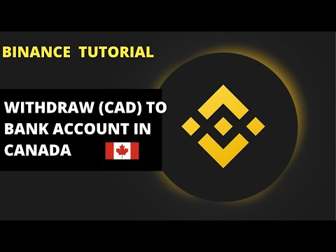 HOW TO SELL CRYPTO AND WITHDRAW MONEY (CAD) FROM BINANCE DIRECTLY INTO YOUR BANK ACCOUNT IN CANADA