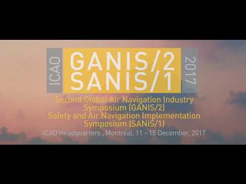 GANIS2 2017 Invitation from Bill Maynard Vice Chair ICAO Meteorology Panel