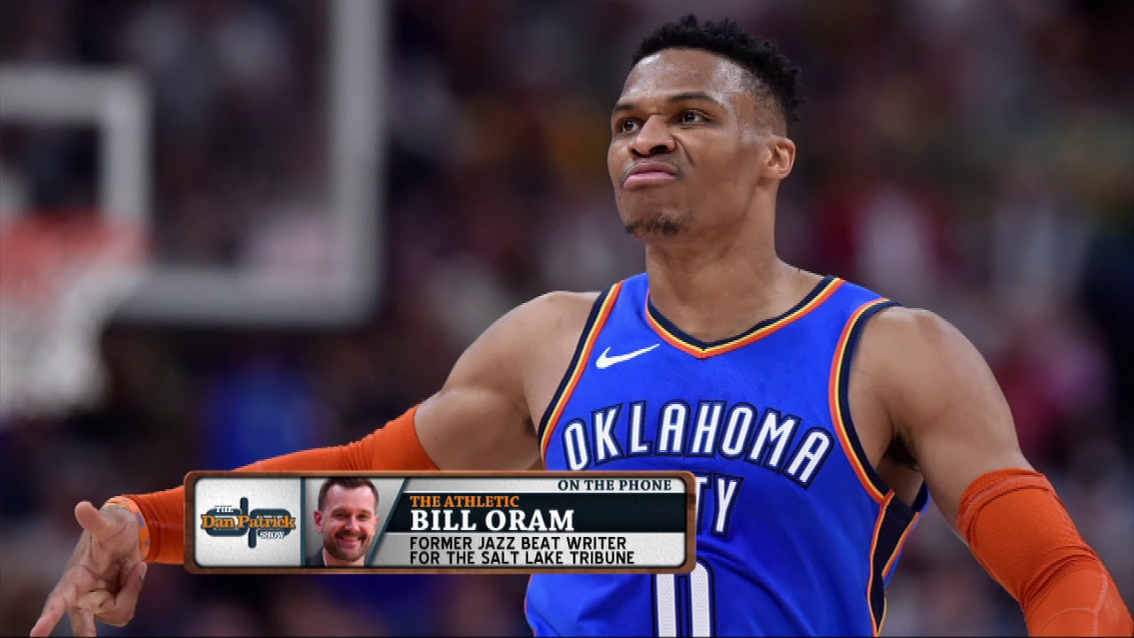 720450dbfe63 The Athletic s Bill Oram on Russell Westbrook s Jazz Fan Run-In ...