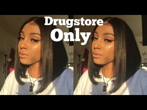 DRUGSTORE GRWM ! : WHAT'S NEW AT WALMART ! SHAPE TAPE 6 $ DUPE ?! | DARCIA DORILAS