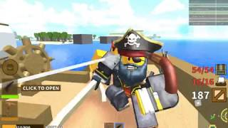 Roblox pirate simulator (episode 1) The tail of Captain Maxx Sparow and the try-hard fool