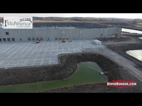 Gateway Commerce Construction Area & Amazon Building