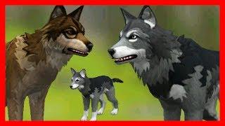 СИМУЛЯТОР ВОЛКА #4 КОРМИМ ВОЛЧОНКА Жизни Зверей WildCraft про котят и собак от ДЕТСКИЕ ИГРЫ