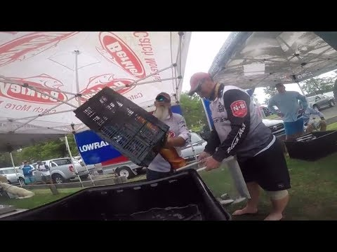 Comp Day Berkley Super Series Bream Fishing Tournament.