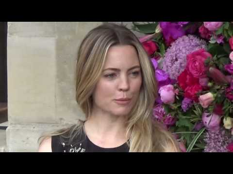 Melissa GEORGE @ Paris Fashion Week July 3, 2017  Schiaparelli  Juillet PFW