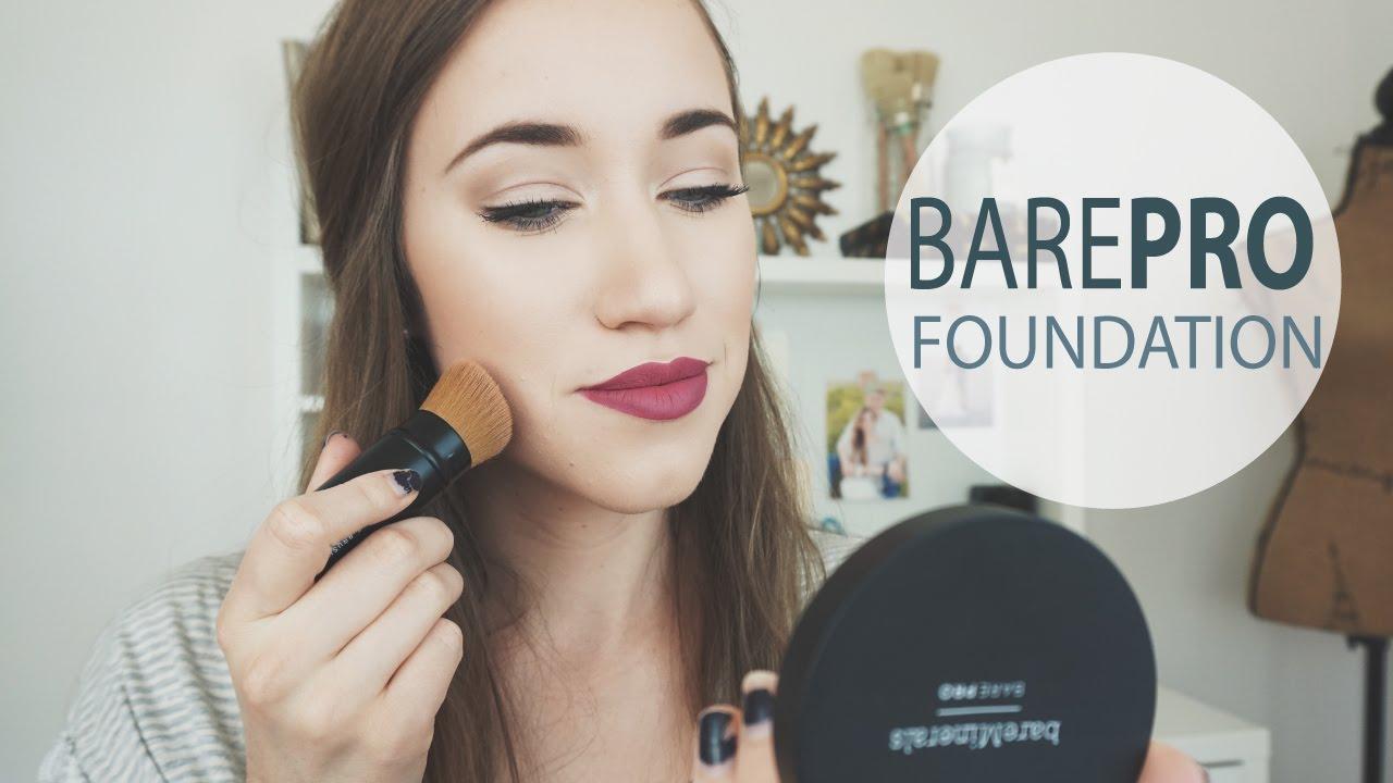 Bareminerals Barepro Foundation Review Demo Allie G