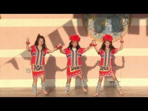 Chinese Cultural Dance: Aborigines Dance - Asian Cultural Festival 2013