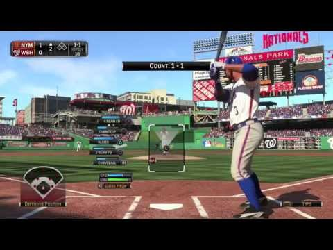 MLB 15 The Show (PS4) - Mets vs Nationals Full Game (Plus Help Junk Pick A Franchise!)