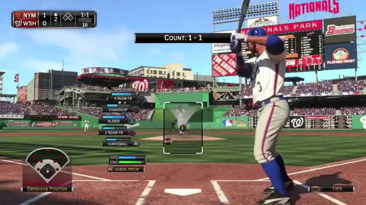 Mlb 15 The Show Ps4 Mets Vs Nationals Full Game Plus Help Junk Pick A Franchise Youtube