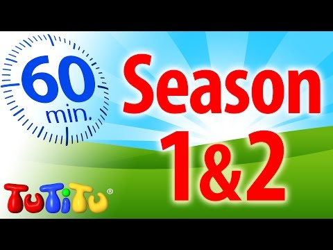 TuTiTu Specials | 1 Hour Special | Full Seasons 1&2 | Airplane, Train, Tricycle and Lots More!