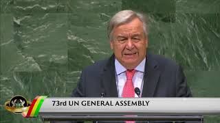 Presidential Diaries: 73rd UN General Assembly
