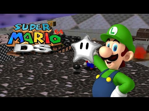 Super Mario 64 DS - Soaked Silver Stars - 112/150 - (NDS)