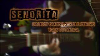 Baixar Senorita Guitar Single String Tabs Camila Cabello