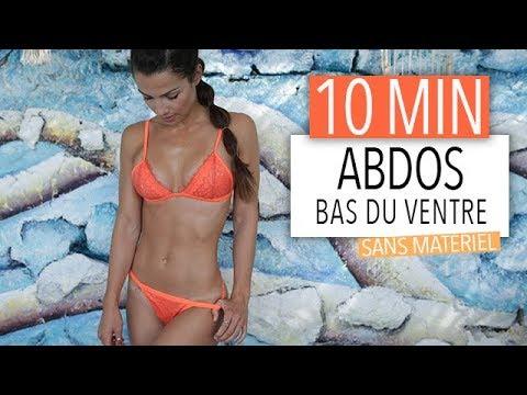10MIN PERDRE LE BAS DU VENTRE !!!