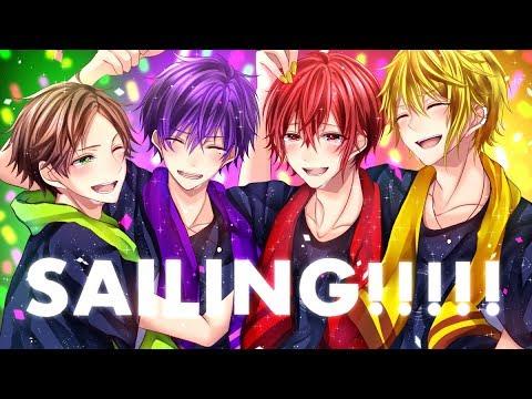 【 浦島坂田船 】SAILING!!!!! Speed Paint【 描いてみた 】