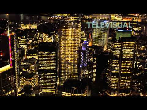 4K London - Beautiful views of London, UK