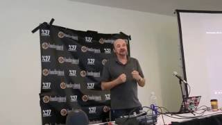 """Martin Armstrong """"The Forecaster"""" at Hackmiami Conference 2016"""