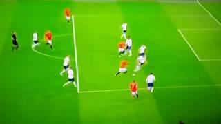 Gol da Espanha - Gol de Saúl - Inglaterra x Espanha - Goal Spain