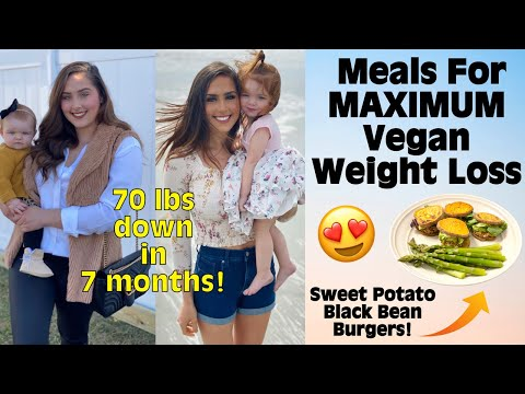 Meals For Maximum Vegan Weight Loss / Plant Based Diet / Starch Solution
