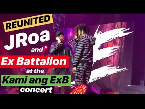 REUNITED! JRoa at EX-Battalion nagsama ulit sa KAMI ANG EXB concert   Di Ako Fuckboy at Taguan