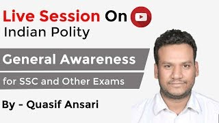 Live Session for Indian Polity Started - Live Now (Today @ 06:00 PM)