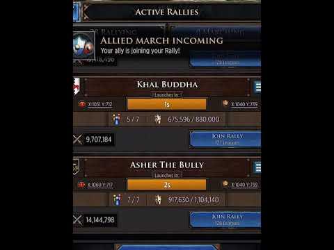 GoT: Conquest - The final battle - RVOLT & OMEGA takeover King's Landing in  K139