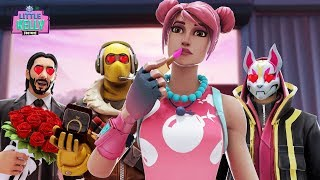 THE BOYS FALL IN LOVE WITH LITTLE KELLY'S SISTER ! Fortnite Short Film