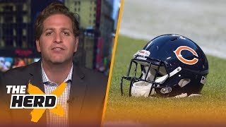Peter Schrager talks Bears, Steelers and Jets going into 2018 season | NFL | THE HERD