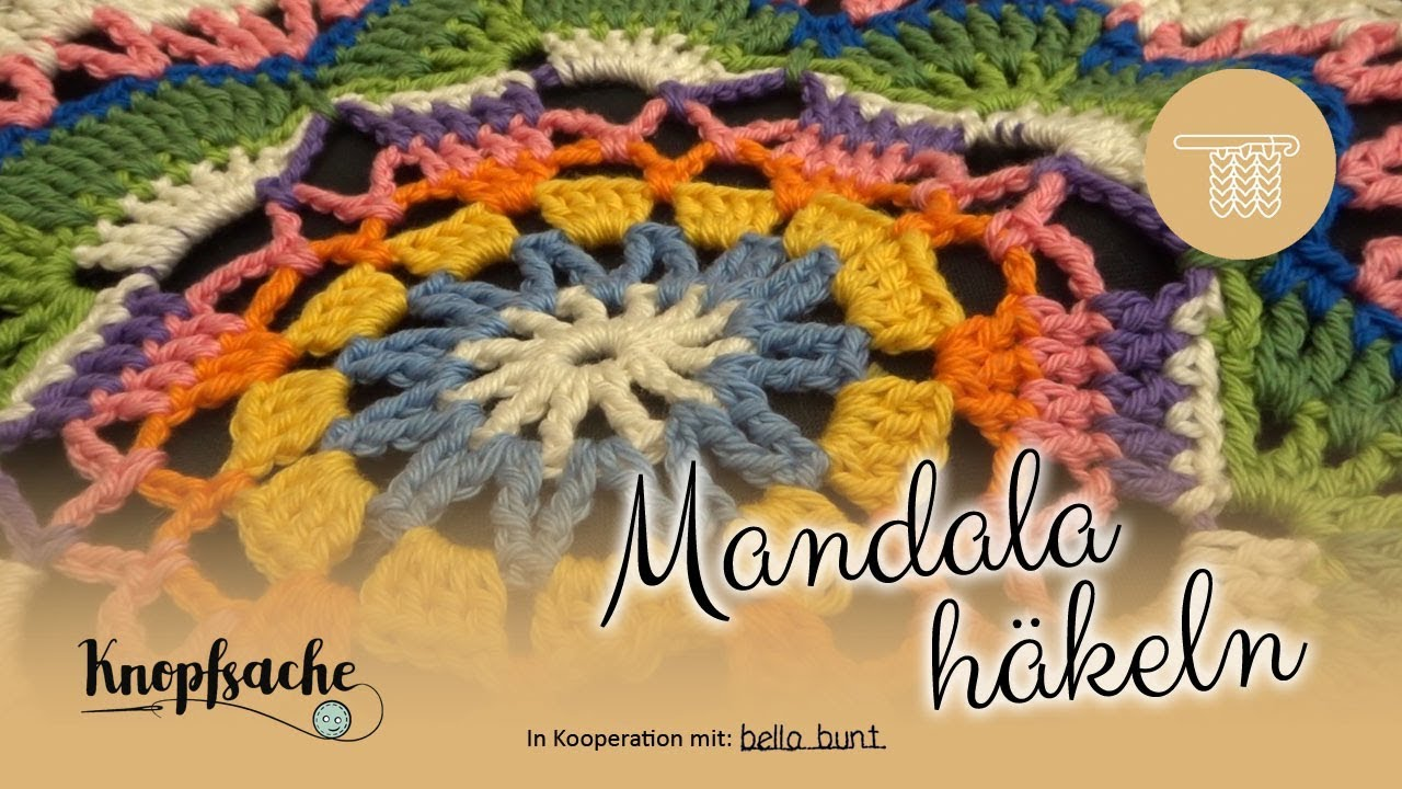 Mandala Häkeln Youtube